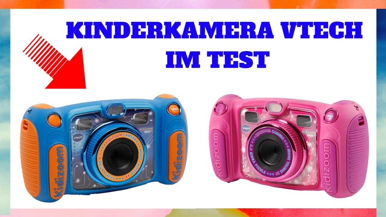 kinderkamera vtech kidizoom duo 5 0 im test youtube. Black Bedroom Furniture Sets. Home Design Ideas