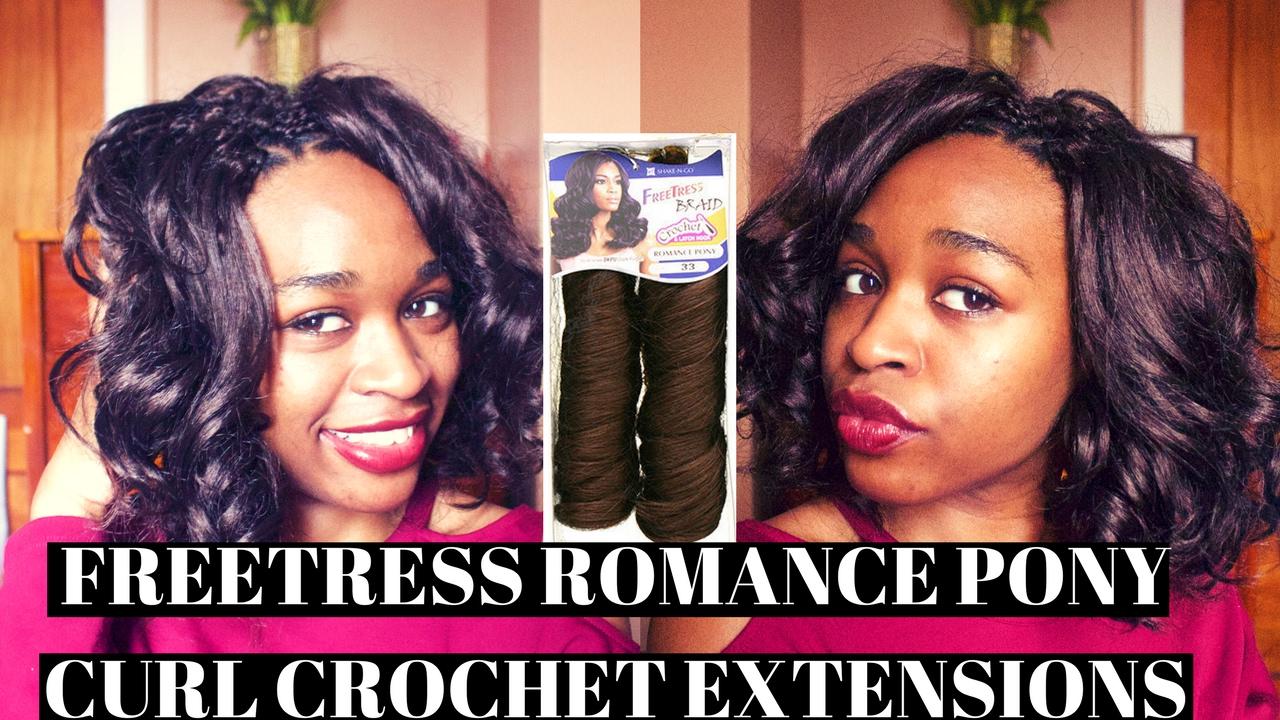 100+ Yaki Pony Hair Crochet Braids | Crochet Braids With ...