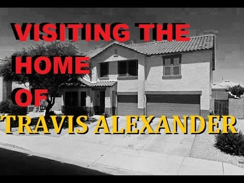 Jodi Arias Murder Scene - Visiting the Travis Alexander House