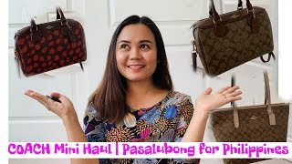 Coach Mini Haul | Pasalubong for Philippines