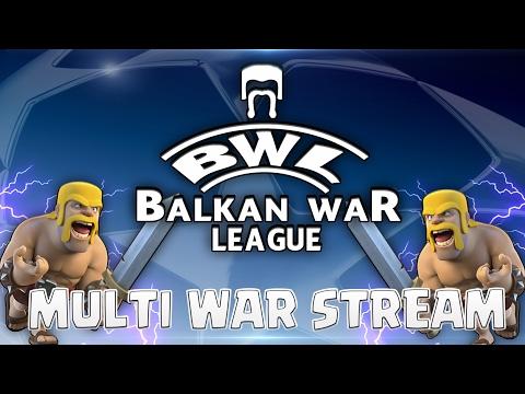 BALKAN WAR LEAGUE - MULTI WAR RECAP