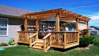 Wood Patio Designs Pictures
