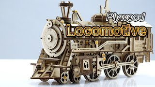 Giveaway Time !!! Cool Plywood Locomotive Assembly