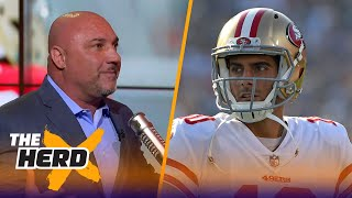 Jay Glazer on Garoppolo's contract with the 49ers, McDaniels staying with the Patriots | THE HERD