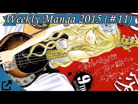 Top 10 Japan's Weekly Manga 2015 11