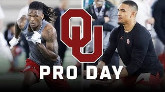 Jalen Hurts & CeeDee Lamb FULL Pro Day Highlights at Oklahoma
