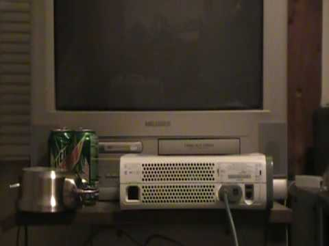 how to connect xbox 360 to an old tv