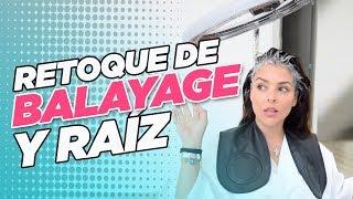 RETOQUE DE BALAYAGE Y RAIZ :: Grettell Valdez