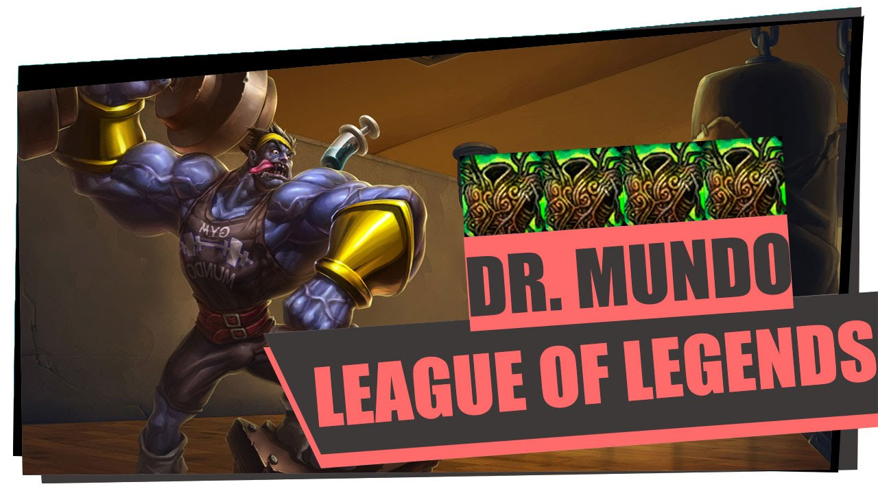 Dr mundo top only warmog l regen de vida que n o acaba for Mundo top build