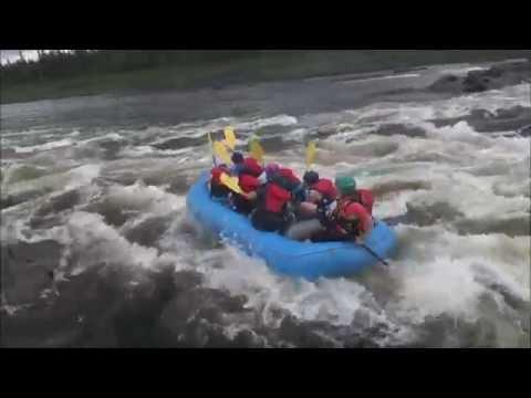Road Trip 2016 - Whitewater Rafting And Ziplining