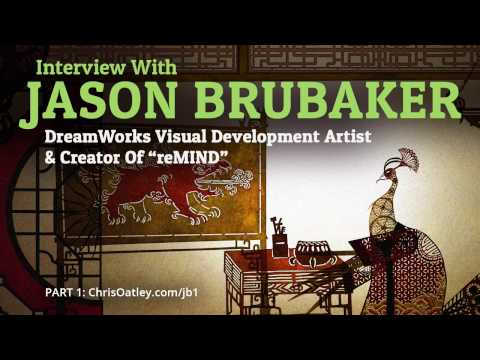 "Interview With Jason Brubaker: DreamWorks Visual Development Artist and Creator Of ""reMIND"" (Part 1)"