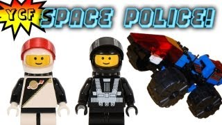 LEGO Space Police Spy Trak 1 Review - LEGO 6895 from 1989