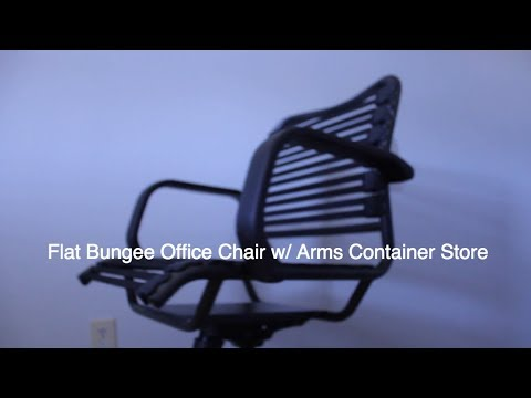 Unboxing Flat Bungee Office Chair W/ Arms Container Store