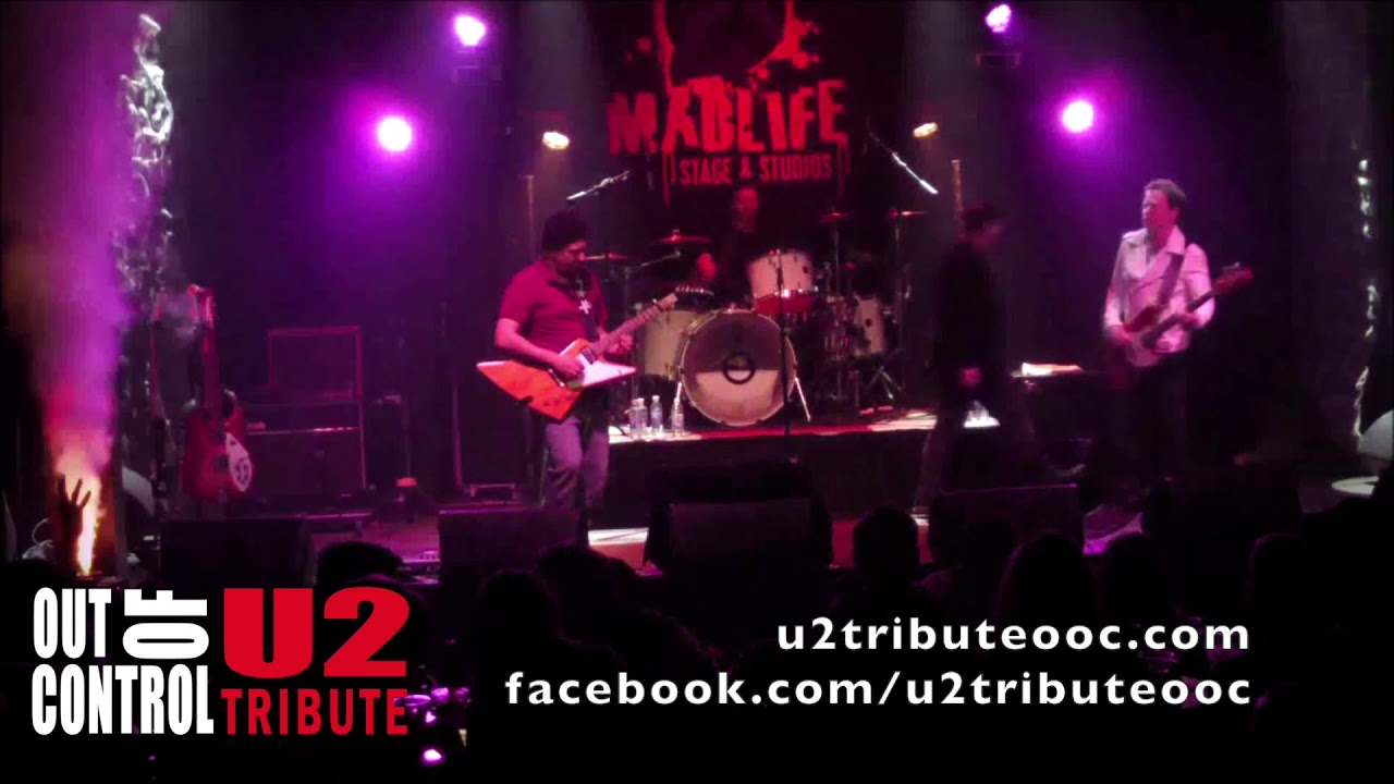 Out of Control - U2 tribute band