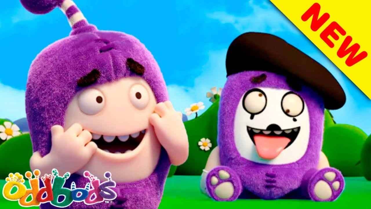 Blue Sky Of Summer | Oddbods | NEW | Funny Cartoons For Kids