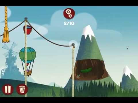 мультик игра 7 гномов дисней вагонетки и ведерки прохождение и обзор игры
