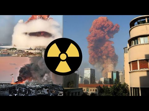 How does the Explosion in Beirut Lebanon Compare to a Nuclear Bomb?