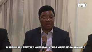 WAZIRI MKUU AWATAKA WATANZANIA CUBA KUIMARISHA UZALENDO