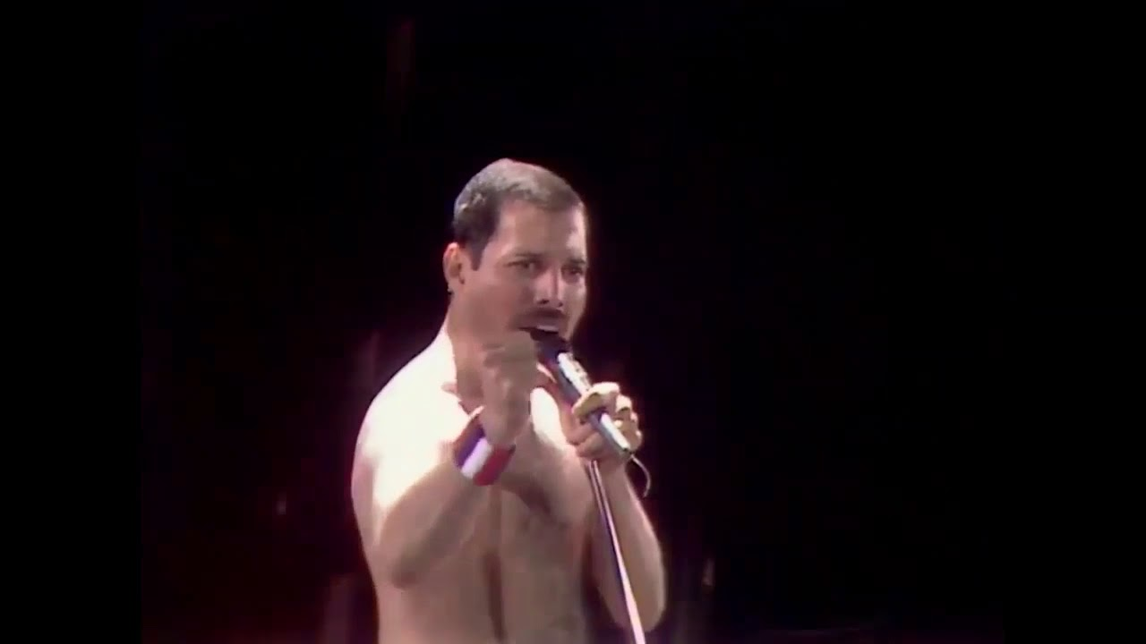 Queen - Radio Ga Ga Live 1986