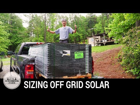 DIY Off-Grid Solar: Sizing a Solar Energy System (Part 1)