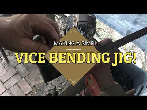 BLACKSMITHING BENDING JIG MADE SIMPLE!