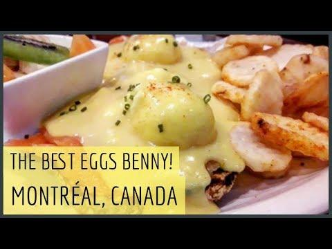 🇨🇦 The BEST Food In MONTRÉAL?| La Vieux St Laurent Eggs Benedict! | MONTRÉAL FINAL Impressions