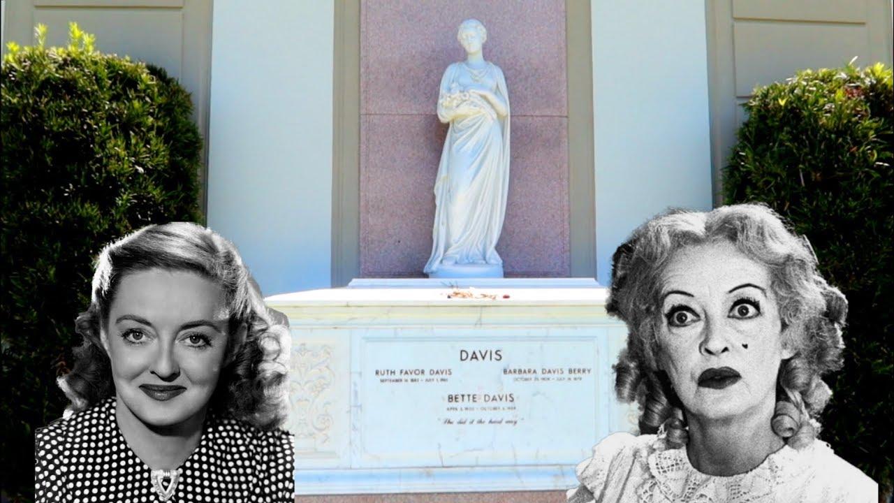 1300 Bette Davis Grave Last Home In La Jordan The Lion Travel Vlog 5 18 20 Youtube