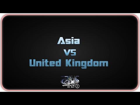 NationsCup XX - United Kingdom vs Asia