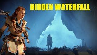 HORIZON ZERO DAWN | Secret Waterfall Area? (Can't Figure It Out)