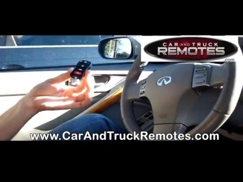 Reprogramming Nissan/Infiniti Remote Control Fob - How To ...