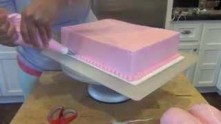 Cupcake Themed Sheetcake