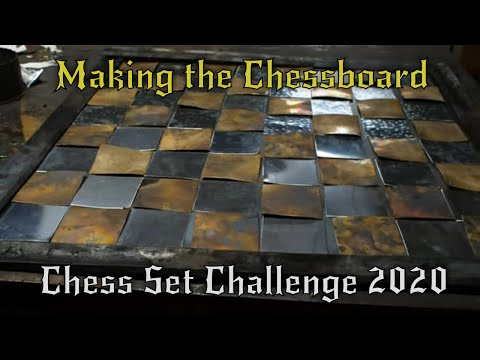 Making the Chessboard - Chess Set Challenge 2020