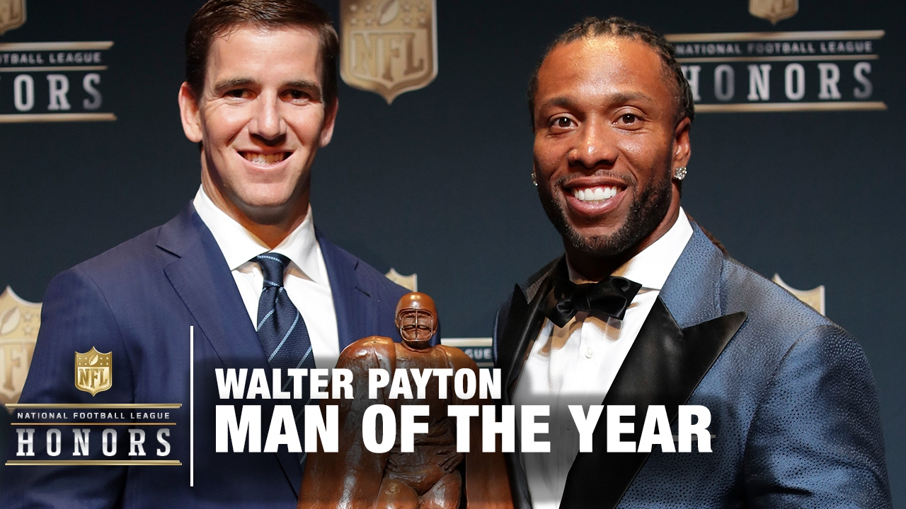 NFL Walter Payton Man Of The Year Award | 2017 NFL Honors