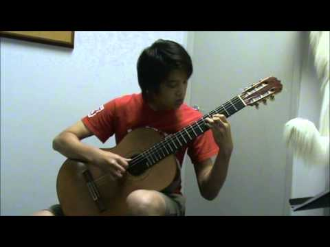 RCM. Guitar grade 8.PRELUDE. J.S.Bach.