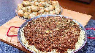 Spaghetti MEAT SAUCE !!!