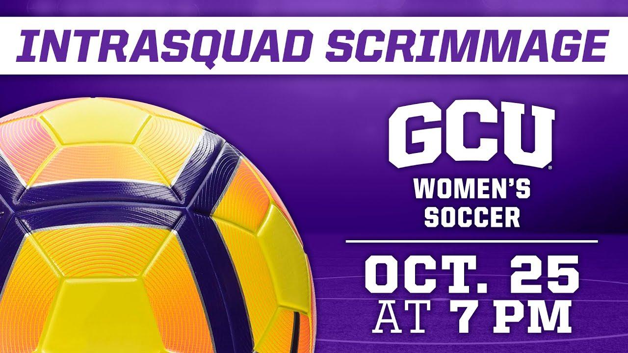 Women's Soccer Intrasquad Scrimmage October 25, 2020
