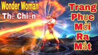 [Gcaothu] Trang phục mới Wonder Woman Thế Chiến chính thức ra mắt - Ngực tấn công mông phòng thủ