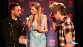Meet Train and One Direction on the iHeartRadio red carpet