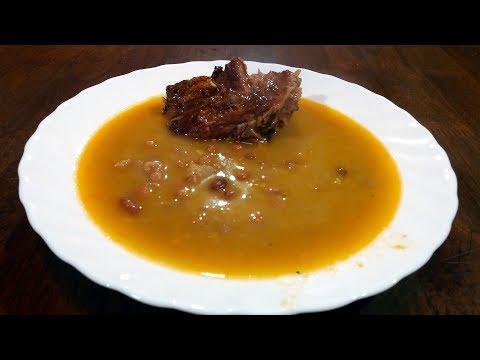 corbast pasulj sa suvim rebrima priprema