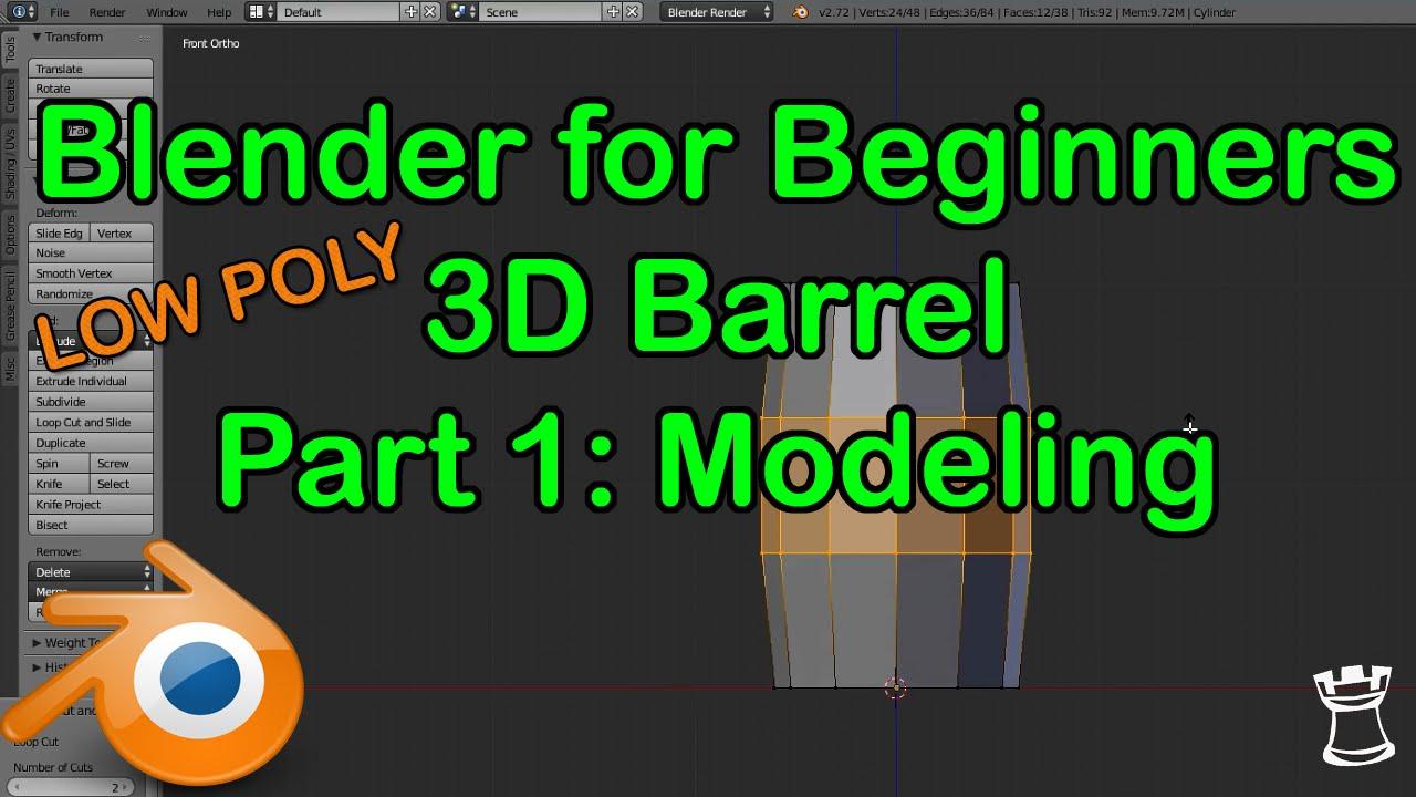 Blender Character Modeling Guide : Archives metrany