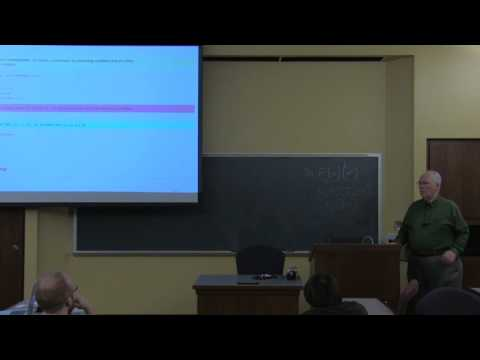 Dana Scott - Theory and Models of Lambda Calculus  Untyped and Typed - Part 2 of 5 - λC 2017