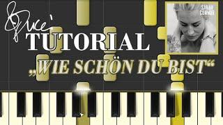 Wie schön du bist - Sarah Connor (piano tutorial + MIDI)