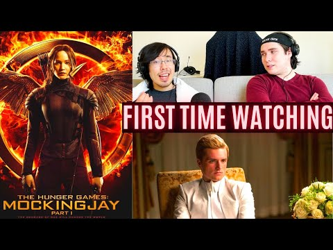 FIRST TIME WATCHING: Mockingjay part 1....wow what a brutal ending