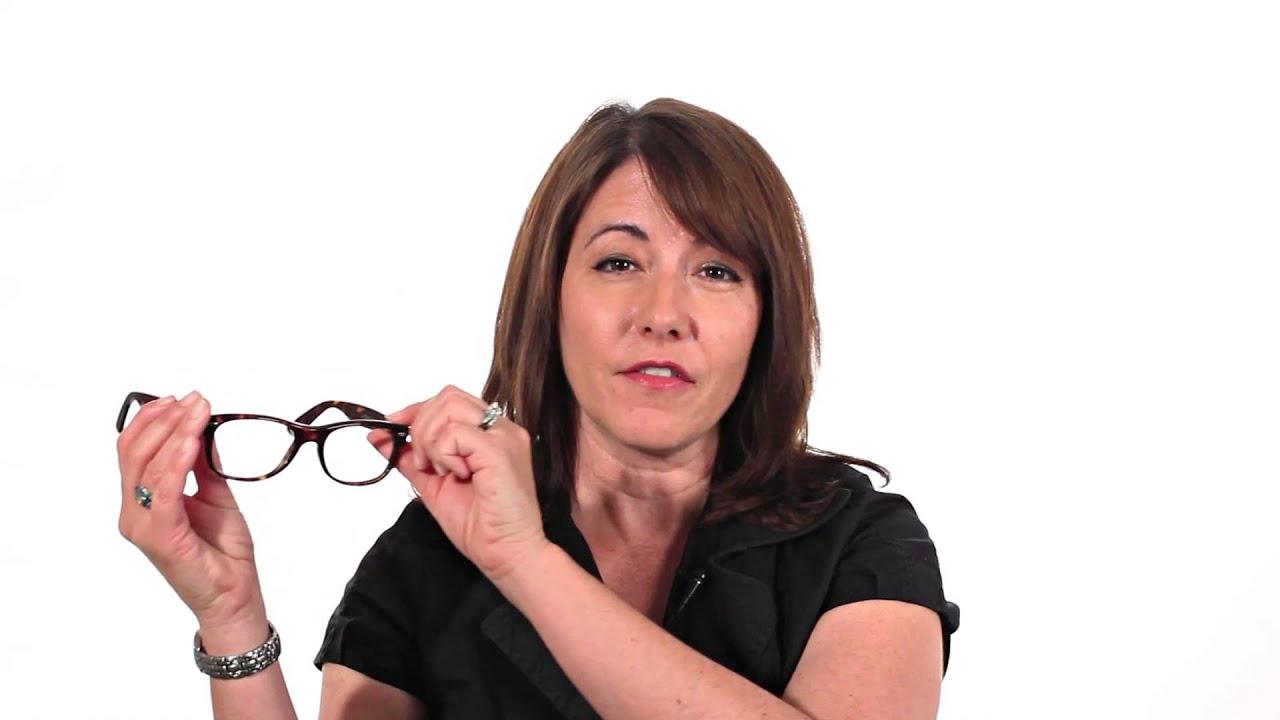 ray ban wayfarer eyeglasses frames  Ray-Ban Rx 5184 Eyeglasses: Wayfarer Style Frames - YouTube