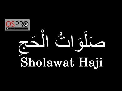 Ega - Sholawat Haji (Video Lyrics)