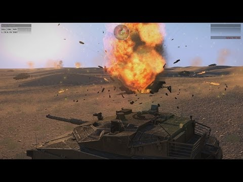 ARMA 3: Big Tank Battle (Blastcore & JSRS Mods)