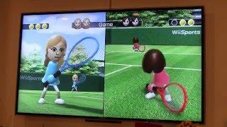 CHALLENGE Wii game CHALLENGE for kids челендж игра в тенис игры для детей