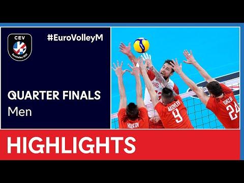 Poland vs. Russia Highlights - #EuroVolleyM
