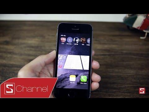 Schannel - Tổng hợp ứng dụng Cydia trên iOS 8.0-8.1 - Phần 1 - Tuỳ biến giao diện