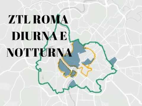 Orari ZTL ROMA diurni e notturni